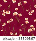 花 花柄 パターンのイラスト 35509367