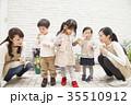 子供 人物 幼児の写真 35510912
