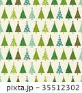 クリスマス 模様 パターンのイラスト 35512302