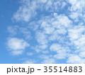 秋の稲毛海浜公園の青空と白い雲 35514883