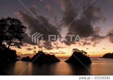 堂ヶ島の夕日 35520283