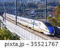 北陸新幹線E7系 佐久の大カーブ 35521767