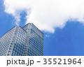 高層ビル 青空 ビルの写真 35521964