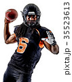 american football player man isolated 35523613