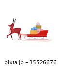 クリスマス プレゼント 贈り物のイラスト 35526676
