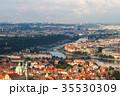 Prague old city panorama 35530309