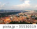 Prague old city panorama 35530319