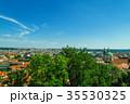 Prague old city panorama 35530325