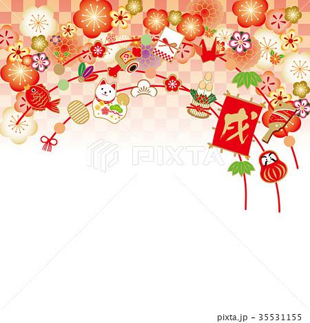 飾り正月 梅 たくさん 35531155