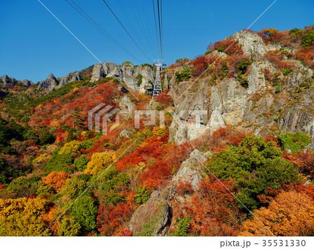 寒霞渓の紅葉 35531330