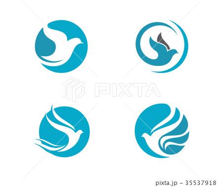 Bird Dove Logo Template 35537918