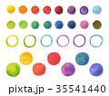 watercolor dots 35541440