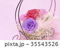 バレンタイン かご カゴの写真 35543526