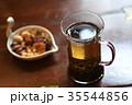 お茶 中国茶 茶 tee ドリンク アジア オリエンタル グラス 飲み物 ティータイム  35544856