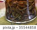 お茶 中国茶 茶 tee ドリンク アジア オリエンタル グラス 飲み物 ティータイム  35544858