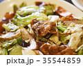 ホイコーロー 回鍋肉 中華料理 四川料理 中華 キャベツ 肉 炒める ランチ 調理  35544859