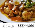 鶏肉甘酢餡かけ 甘酢 餡かけ 揚げ物 中華料理 四川料理 中華 キャベツ 肉 炒める ランチ 調理  35544860