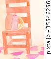 ミニチュアランドセル 椅子 35546256