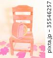 ミニチュアランドセル 椅子 35546257