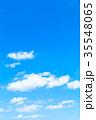 雲 青空 羊雲の写真 35548065