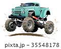 マンガ 漫画 トラックのイラスト 35548178