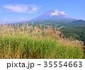 富士山 山 世界遺産の写真 35554663