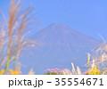 富士山 山 世界遺産の写真 35554671