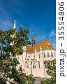 マーチャーシュ聖堂 聖母マリア聖堂 教会の写真 35554806