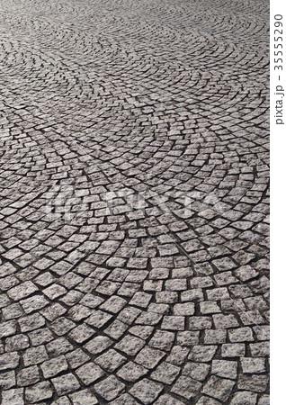 ピンコロ石の石畳 35555290