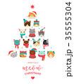 ねこ ネコ 猫のイラスト 35555304