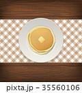 レストラン 飲食店 献立のイラスト 35560106