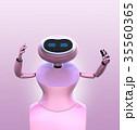 ロボット アンドロイド サイボーグのイラスト 35560365