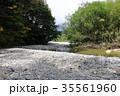 上高地 秋 梓川の写真 35561960