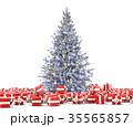 クリスマスツリー 樹木 樹のイラスト 35565857