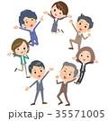 人々 人物 ビジネスのイラスト 35571005
