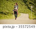 女性 バックパッカー 女子旅の写真 35572549