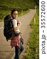 女性 バックパッカー 女子旅の写真 35572600