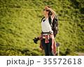 女性 バックパッカー 女子旅の写真 35572618