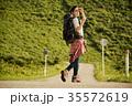 女性 バックパッカー 女子旅の写真 35572619