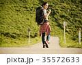 女性 バックパッカー 女子旅の写真 35572633