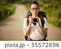 女性 バックパッカー 女子旅の写真 35572696