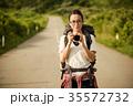 女性 バックパッカー 女子旅の写真 35572732
