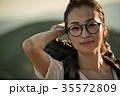 女性 バックパッカー 女子旅の写真 35572809