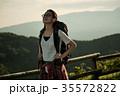 女性 バックパッカー 女子旅の写真 35572822