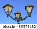 Old vintage metal street lamp 35576132