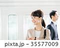 ビジネス 男女 電車 撮影協力・京王電鉄株式会社 35577009