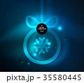 クリスマス ベクトル のぼりのイラスト 35580445