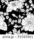 花 フローラル 絵のイラスト 35583901