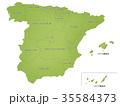スペイン 地図 行政区分 35584373