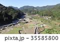 空撮 自然災害 九州北部豪雨の写真 35585800